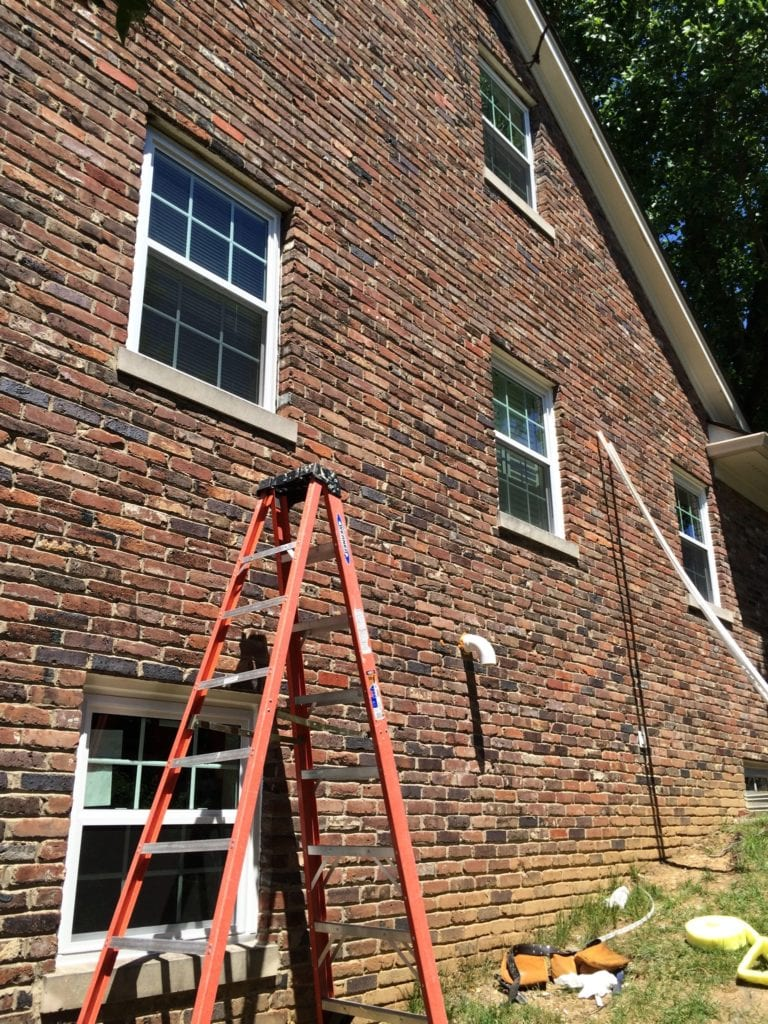 second floor window replacement