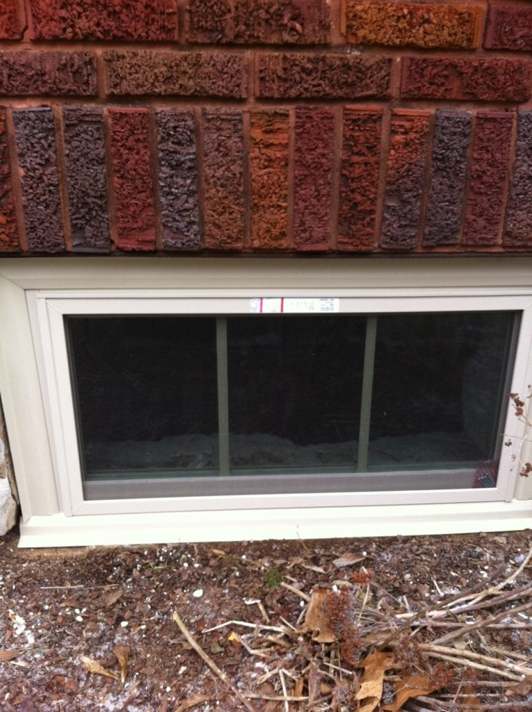 replacing basement windows